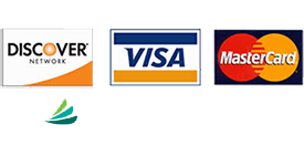 We accept Discover VISA MasterCard CareCredit